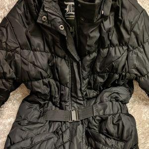 Dollhouse puffy BLK jacket Size Junior M